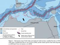 Over de tektoniek in het westelijke Middellandse Zeegebied van Jura tot nu