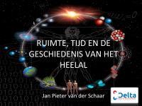 Ruimte, tijd en de geschiedenis van het heelal